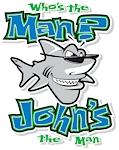 John t-shirt by Bob The Fish!
