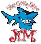 Jim t-shirt by Bob The Fish!