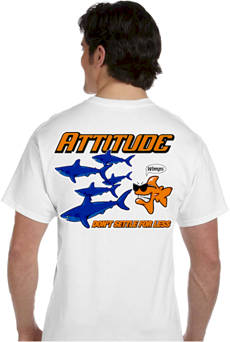 Offensive Tshirts | Attitude don't settle for less wimps Tee | mens T shirt