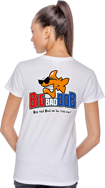 Big bad Bob ladies tee shirts online - Bob the Fish