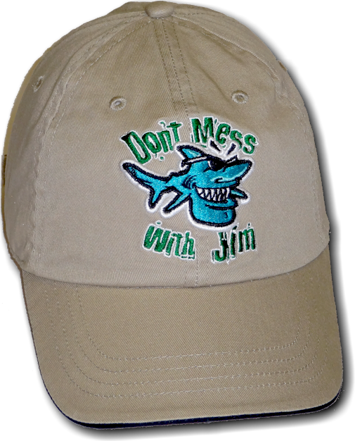 Don't mess with Jim hat - Jim the Shark