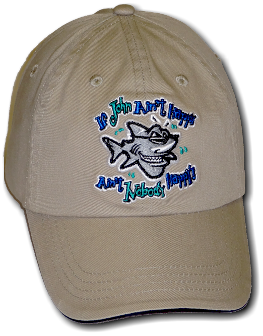 Bob the Fish, Jim the Shark & John the Shark hats and headwear