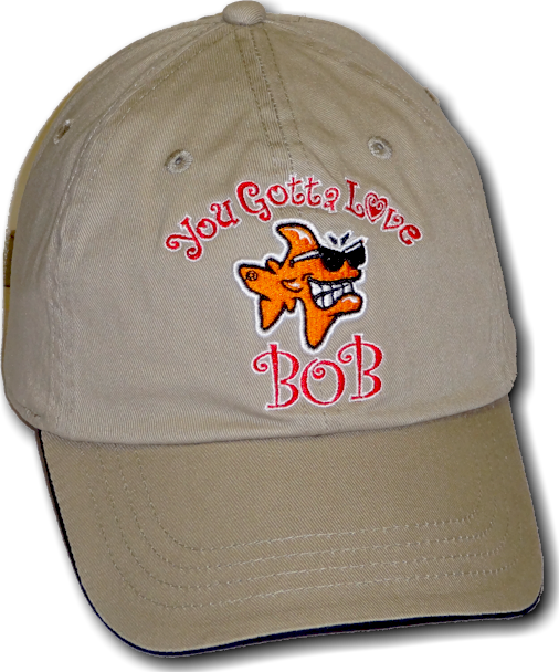 You gotta love Bob hat - Bob the Fish