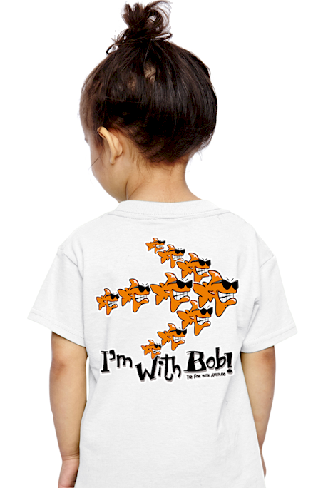 Bob the Fish, Jim the Shark & John the Shark childrens & kids T shirts
