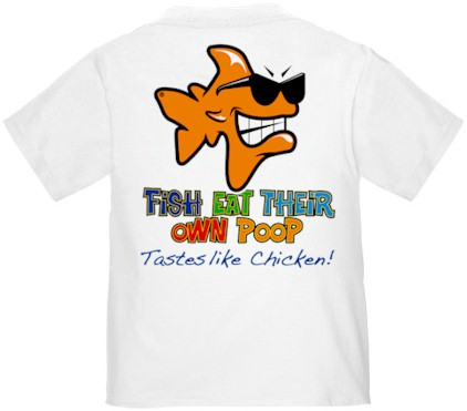 Bob t shirts bob the fish t shirts jim t shirts john for Toddler fishing shirts