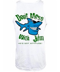 Bob the Fish, Jim the Shark & John the Shark men's tank tops T shirts