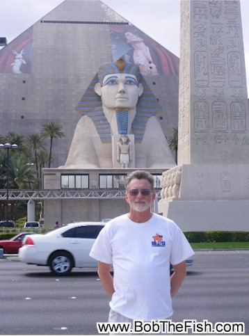 My name really is Bob, and this is me in Las Vegas, in April of 2009.