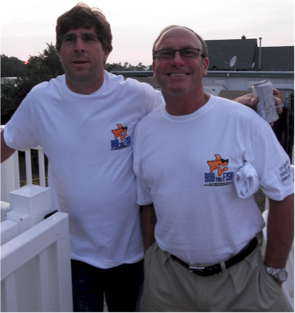 The guys - 2012 Lighthouse Marina Invitational Fluke Tournament in Memory of Bob & Donna Gregory