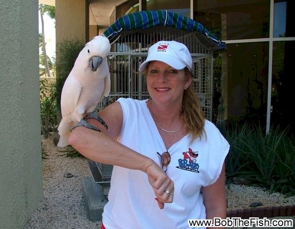 Jane... Hey it's the bird from Baretta!