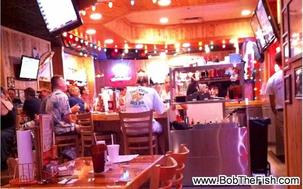 BobTheFish Shirt pic at John's Pass Hooters Have a great day!! Richard