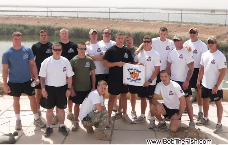 Team Bob the Fish in Samarra, Iraq, HHC 1-28 INFANTRY BN MORTARS