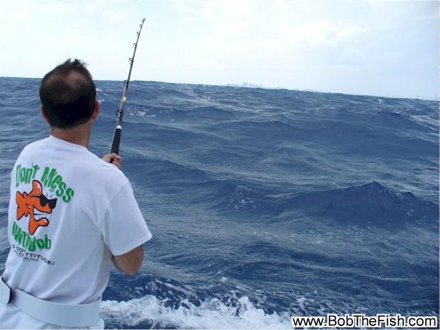 Bob's 50th birthday fishing trip! Miami, FL.