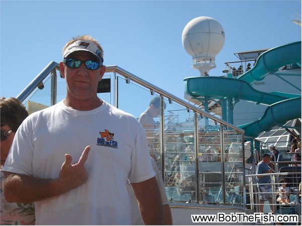 Tom onboard Carnival Cruise