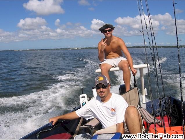 Bob the Fish fan out fishing!