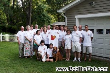 Bob's graduation party was a huge success and everybody loved the