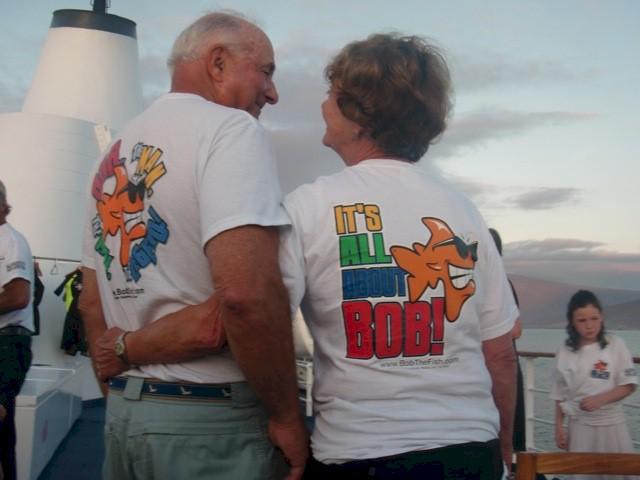 Galapagos 12/10 Papa Bob's 75th birthday!  GO PAPA BOB!