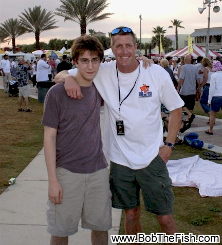 David & David Groover cuzins of Bob (Bud) at Blues Fest Jax Beach, FL 2008