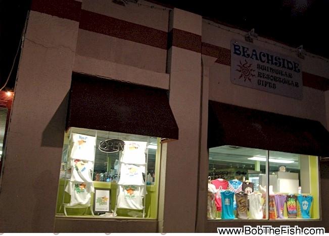 Bob The Fish window display spotted at Beachsides at 234 First Street North Jax Beach. Thanks Bill!